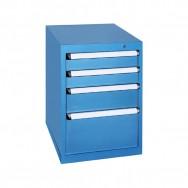Armoire à tiroirs KOB - 4 tiroirs de 9 compartiments