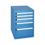 Armoire à tiroirs KOB - 5 tiroirs de 9 compartiments