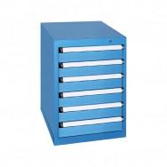 Armoire à tiroirs KOB - 6 tiroirs identiques de 5 compartiments