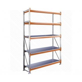 Rack Plex platelage acier 5 niveaux - Kit départ 5C