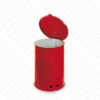 Poubelle acier - 20 litres