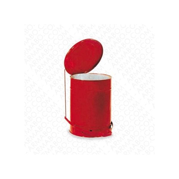 poubelle acier avec p dale 80 litres conteneurs et. Black Bedroom Furniture Sets. Home Design Ideas