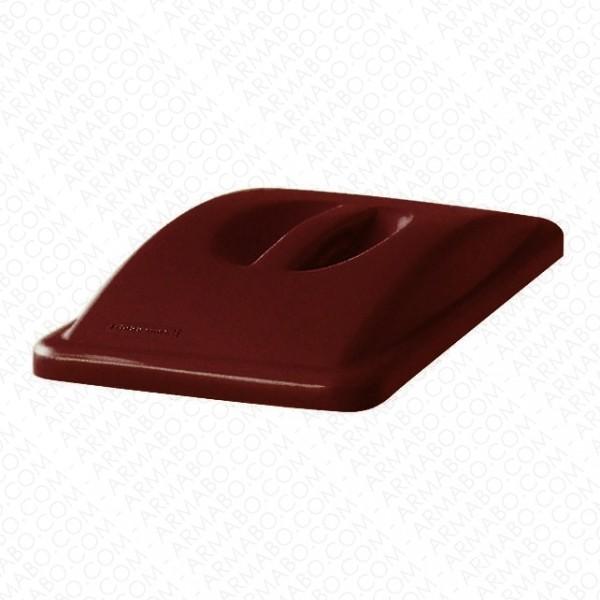 couvercle poign e marron pour conteneur tri s lectif conteneurs et poubelles armabo. Black Bedroom Furniture Sets. Home Design Ideas