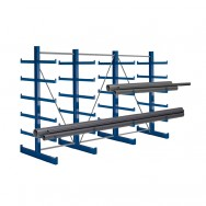 Cantilever 2 faces - 6 bras X 4 montants