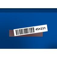 Étiquettes magnétiques - H20 x L100mm