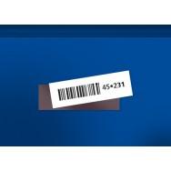 Étiquettes magnétiques - H25 x L80mm