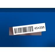 Étiquettes magnétiques - H25 x L100mm