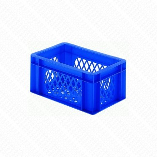 Bacs plastique gerbables 5,5L - 15KG - Lot de 8