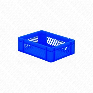 Bacs plastique gerbables 10L - 20KG - Lot de 4