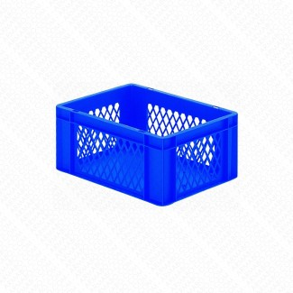 Bacs plastique gerbables 15L - 25KG - Lot de 4