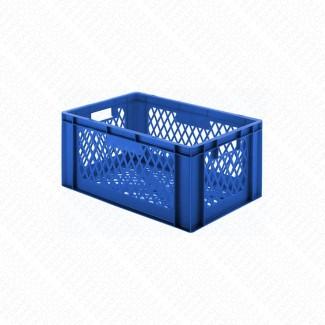 Bacs plastique gerbables 51L - 35KG - Lot de 2