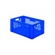 Bacs plastique gerbables 51L - 40KG - Lot de 2