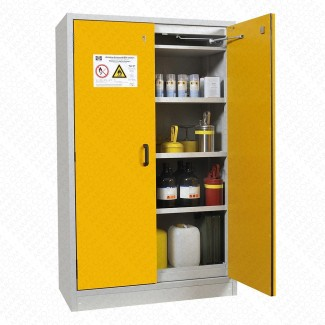 Installation armoire anti feu