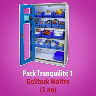 Pack Tranquilité 1 GoStock Maître (1 an)