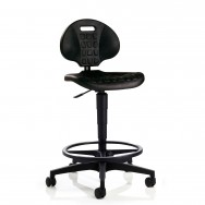 Siège assis debout mobile - Polyuréthane