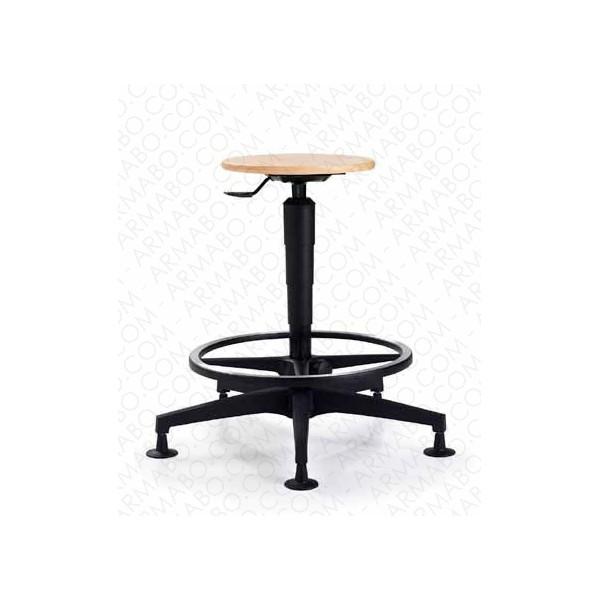 tabouret d 39 atelier haut boisintitul sous cat. Black Bedroom Furniture Sets. Home Design Ideas