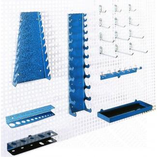 Kit crochets pour panneau perforé - X17