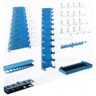 Kit crochets pour panneau perforé - X21