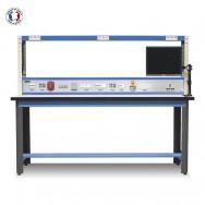 Établi électrotechnicien avec étagère - Stratifié