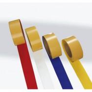 Ruban de marquage,PVC,L 25m,l 75mm,jaune