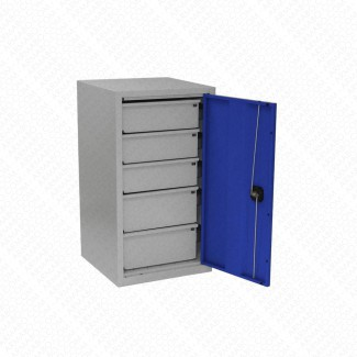 Armoire basse forte charge Armabo - 5 tiroirs