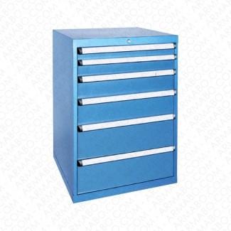Armoire à tiroirs JET - 6 tiroirs de 26 compartiments