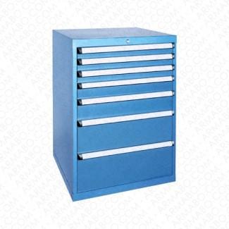 Armoire à tiroirs JET - 7 tiroirs de 26 compartiments