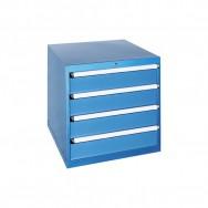 Armoire à tiroirs JET - 4 tiroirs identiques de 19 compartiments