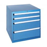 Armoire à tiroirs JET - 4 tiroirs de 19 compartiments