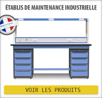 Établi de maintenance industrielle